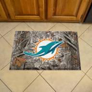 Miami Dolphins Camo Scraper Door Mat