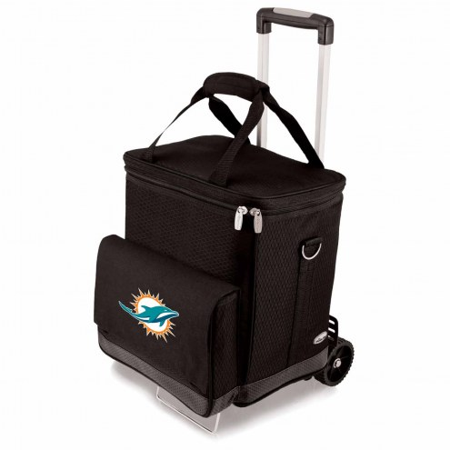 Miami Dolphins Cellar Cooler with Trolley