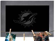 Miami Dolphins Chalkboard with Frame