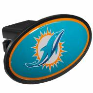Miami Dolphins Class III Plastic Hitch Cover