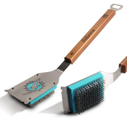 Miami Dolphins Classic Grill Brush