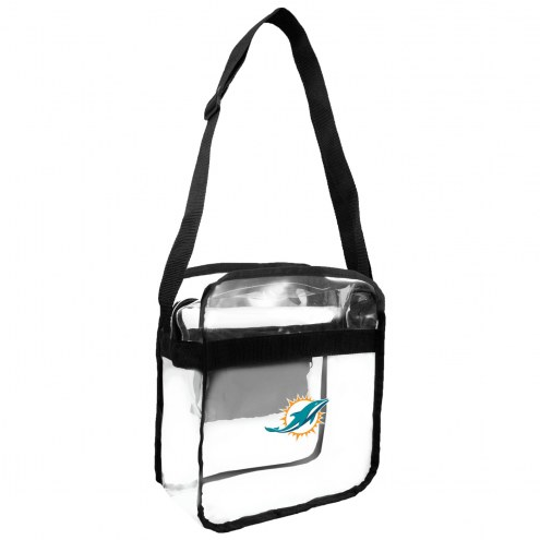 Miami Dolphins Clear Crossbody Carry-All Bag