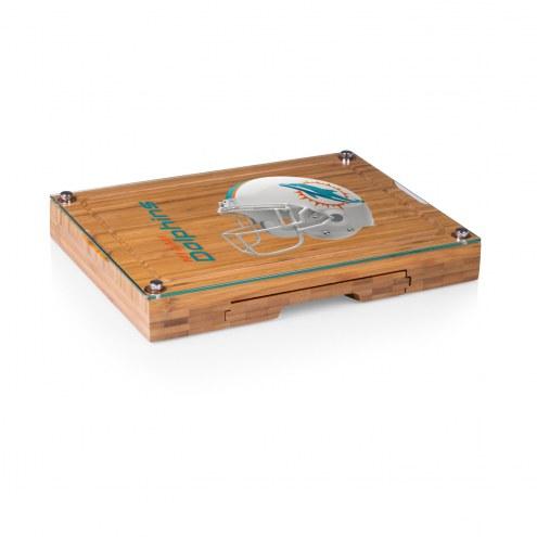 Miami Dolphins Concerto Bamboo Cutting Board