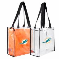 Miami Dolphins Convertible Clear Tote