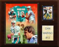 "Miami Dolphins Dan Marino 12 x 15"" Player Plaque"
