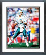 Miami Dolphins Dan Marino 1992 Action Framed Photo