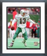 Miami Dolphins Dan Marino 1994 Action Framed Photo