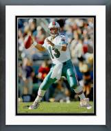 Miami Dolphins Dan Marino 1997 Action Framed Photo