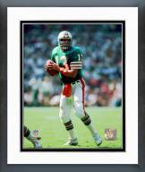 Miami Dolphins Dan Marino Action Framed Photo