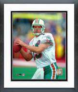 Miami Dolphins Dan Marino Close up, Action Framed Photo