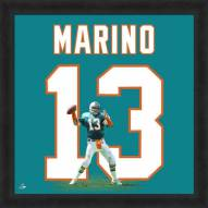 Miami Dolphins Dan Marino Uniframe Framed Jersey Photo