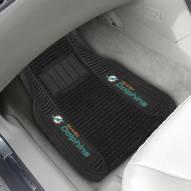 Miami Dolphins Deluxe Car Floor Mat Set