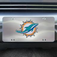 Miami Dolphins Diecast License Plate