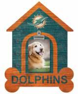 Miami Dolphins Dog Bone House Clip Frame