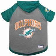 Miami Dolphins Dog Hoodie Tee