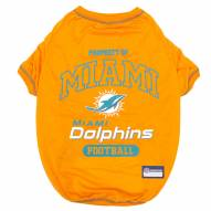 Miami Dolphins Dog Tee Shirt