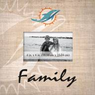 Miami Dolphins Family Picture Frame