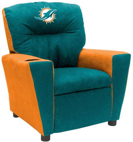 Miami Dolphins Fan Favorite Kid's Recliner