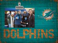 Miami Dolphins Wood Clip Frame
