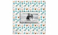 """Miami Dolphins Floral Pattern 10"""" x 10"""" Picture Frame"""