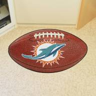 Miami Dolphins Football Floor Mat