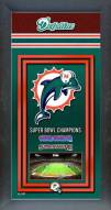 Miami Dolphins Framed Championship Print