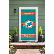 Miami Dolphins Front Door Cover