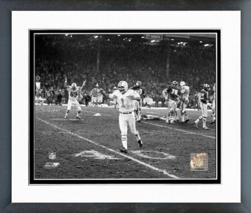 Miami Dolphins Garo Yepremian 1971 Action Framed Photo