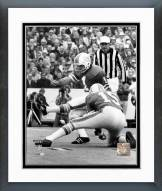 Miami Dolphins Garo Yepremian Super Bowl VIII 1974 Action Framed Photo