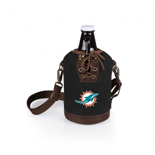 Miami Dolphins Growler Tote with Growler