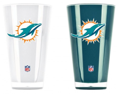 Miami Dolphins Home & Away Tumbler Set