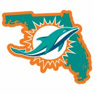 "Miami Dolphins Home State 11"""" Magnet"
