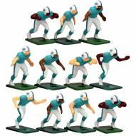 Miami Dolphins Home Uniform Action Figure Set