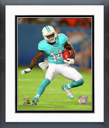 Miami Dolphins Jarvis Landry Action Framed Photo