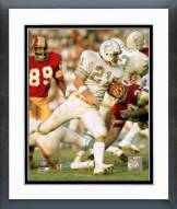 Miami Dolphins Jim Kiick Action Framed Photo