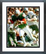 Miami Dolphins Jim Kiick Super Bowl VI 1972 Action Framed Photo