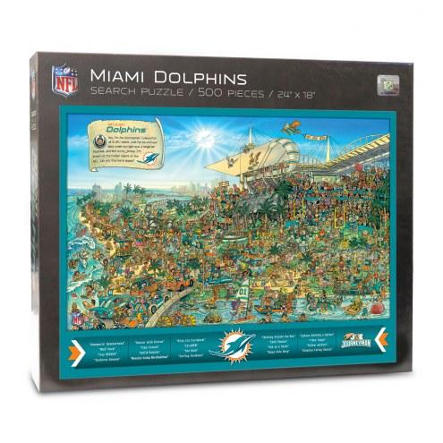 Miami Dolphins Joe Journeyman Puzzle