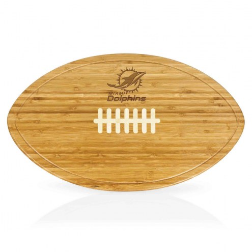 Miami Dolphins Kickoff Cutting Board