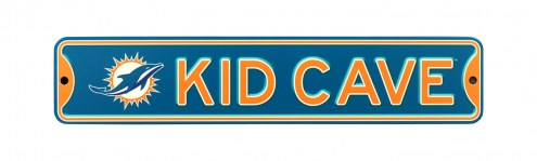 Miami Dolphins Kid Cave Street Sign