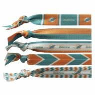 Miami Dolphins Knotted Hair Tie