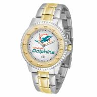 Miami Dolphins Competitor Two-Tone Men's Watch