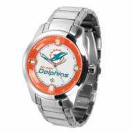 Miami Dolphins Titan Steel Men's Watch