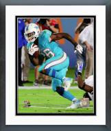 Miami Dolphins Lamar Miller Action Framed Photo
