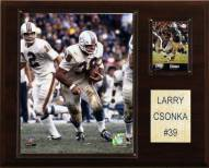 "Miami Dolphins Larry Csonka 12 x 15"" Player Plaque"