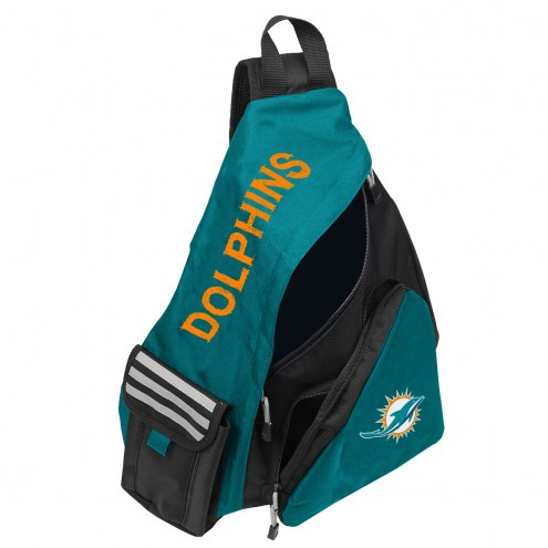 Miami Dolphins Leadoff Sling Backpack