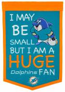 Miami Dolphins Lil Fan Traditions Banner