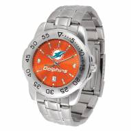 Miami Dolphins Sport Steel Men's Watch