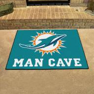 Miami Dolphins Man Cave All-Star Rug