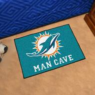 Miami Dolphins Man Cave Starter Mat