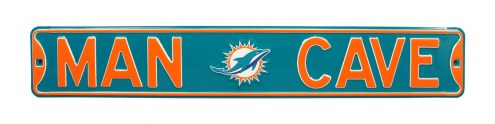 Miami Dolphins Man Cave Street Sign